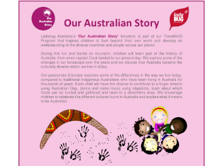 Explorers Playgroup Performance – Cultural Incursion
